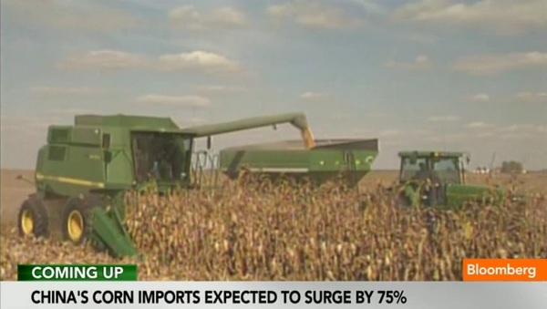 """I see China's increasing demand for corn as inexorable,"" says David Nelson of Rabobank, one of the biggest lenders to the farming industry and an investor in global farmland (see ""Marubeni bets on China with Gavilon deal,"" Financial Times, 29 May 2012)."