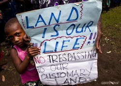 Communities in Papua New Guinea standing up against land 