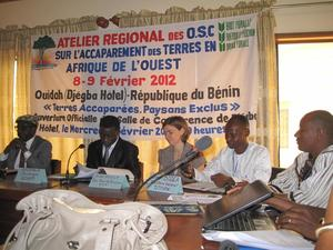 Participants in the Ouidah workshop (February 2012)