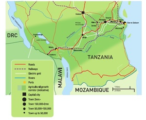 Tanzania's Cooperation Framework lays down strict deadlines to complete land use plans, the demarcation of land, and procedures for its allocation to investors throughout Tanzania's Southern Agricultural Growth Corridor. (Photo: SAGCOT)
