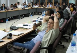 "Participants at the ""Fighting FTAs"" international strategy workshop, Bangkok, July 2006 (Photo: GRAIN)"