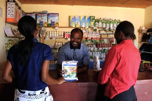 Un agro-commerçant au Malawi. (Photo : AGRA)