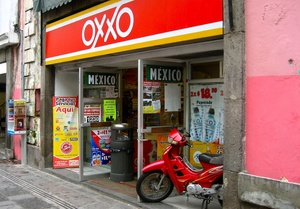 Oxxo (owned by Coca-cola subsidiary Femsa) opens an average of 3 new stores per day – it will open its 14 thousandth store in Mexico sometime in 2015.