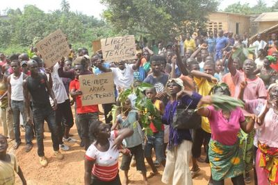 Land conflict in Côte d'Ivoire: local communities defend their rights against SIAT and the state-image