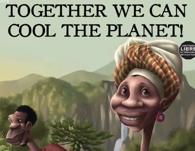 Comic book: Together we can cool the planet!-image