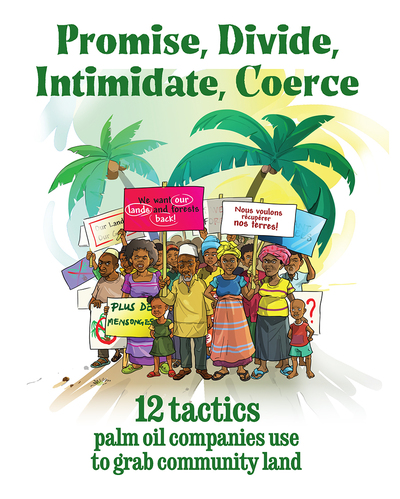 GRAIN | Booklet: 12 tactics palm oil companies use to grab community